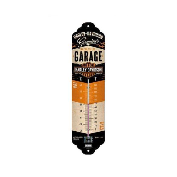 Harley Davidson Garage hőmérő