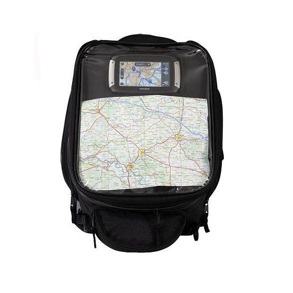Tanktáska, GPS tartóval