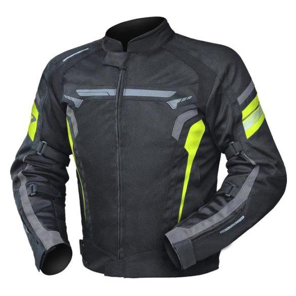 Air Wave Neon textilkabát, Méret: 56-2XL
