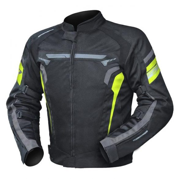 Air Wave Neon textilkabát, Méret: 58-3XL