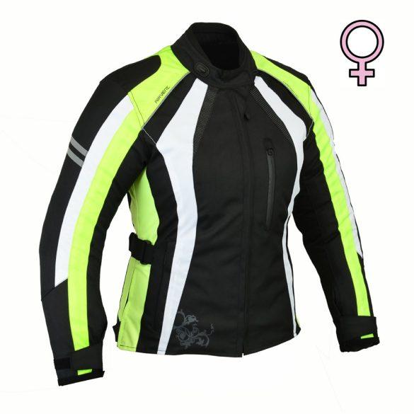 Ana Neon női textilkabát, Méret: 36-M