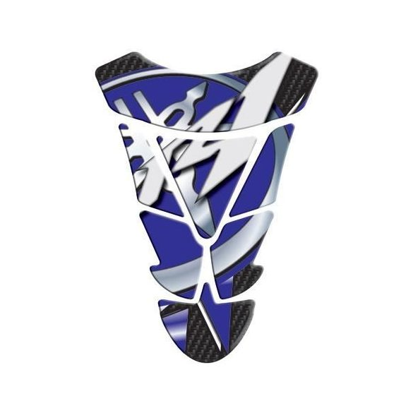 Yamaha R1 Design tankpad, Kék