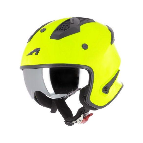 Astone Elektron Neon Yellow nyitott sisak  Méret: 62-XL