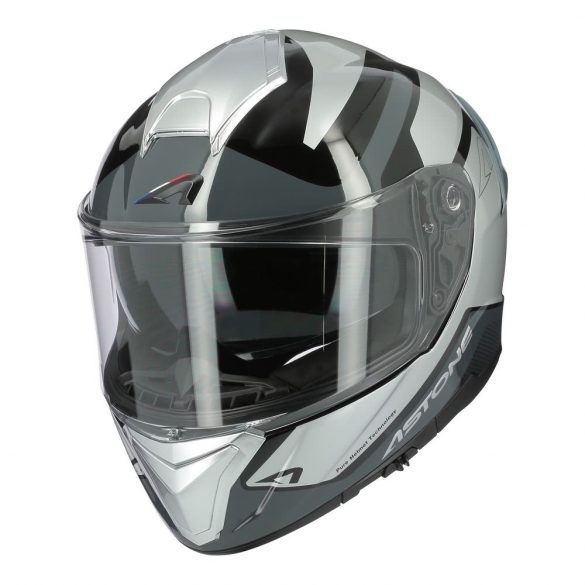 Astone GT1200F ADN Grey / Silver sisak,  Méret: 60-L
