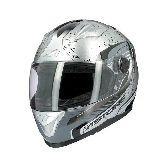 Astone GT2 Graphic Geko Silver sisak  Méret: 56-S