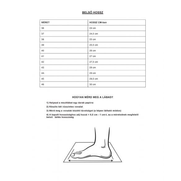 Tracker motoros cipő, Méret: 42