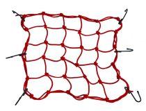 Sisak és csomaglefogató háló,piros 40X40cm